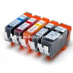 PGI-520 BK,CLI-521 BK/C/M/Y/GY Ink Cartridge