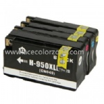 Compatible ink cartridge HP 950XLBK, HP951XLC/M/Y