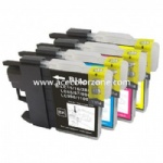LC11/16/38/61/65/67/980/990/1100 BK,C,M,Y Ink Cartridge